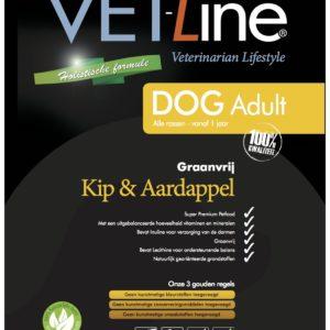 VET-Line, Hund, Adult, Huhn & Kartoffel getreidefrei