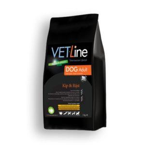 Futter von Vet-Line, Hund, Huhn und Reis