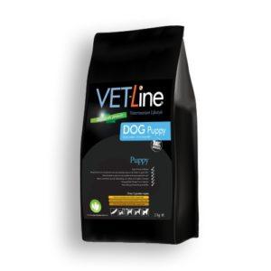 Futter von Vet-Line, Puppy, große Rassen